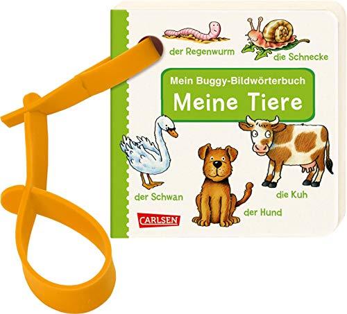 Buggy-Bücher: Mein Buggy-Bildwörterbuch: Meine Tiere: Stabiles Pappbilderbuch mit Buggyband ab 1 Jahr