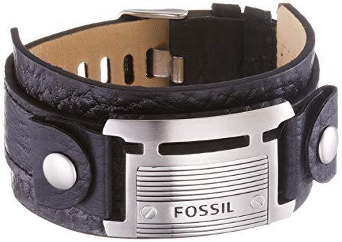 Fossil Herren Armband Fossil Logoplatte