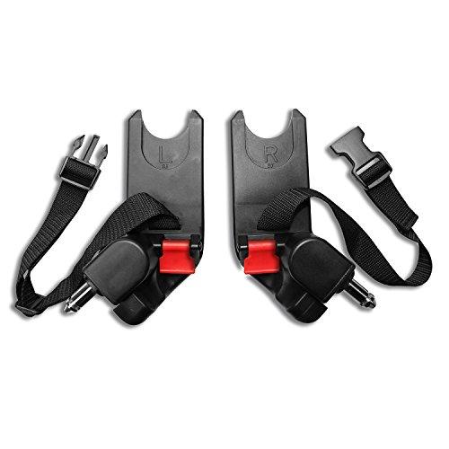 Baby Jogger Autositzadapter (City Mini/Mini GT, City Elite und Summit X3 Einzelwagen) für Cybex und Maxi Cosi Babyschalen