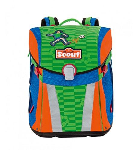 Scout 73510798800 Schule Schulranzen-Set, Grün
