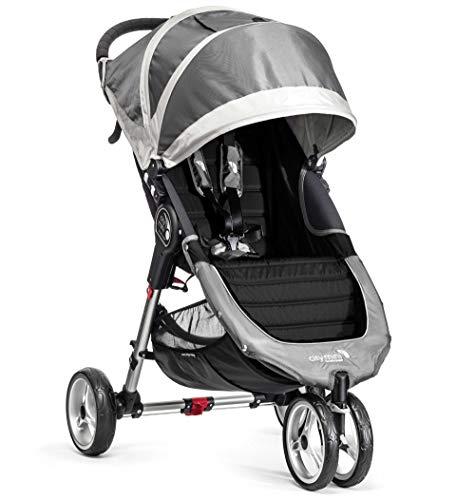 Baby Jogger 1962879 City Mini-3-Rad-Kinderwagen, Single-Modell, Steel/grau