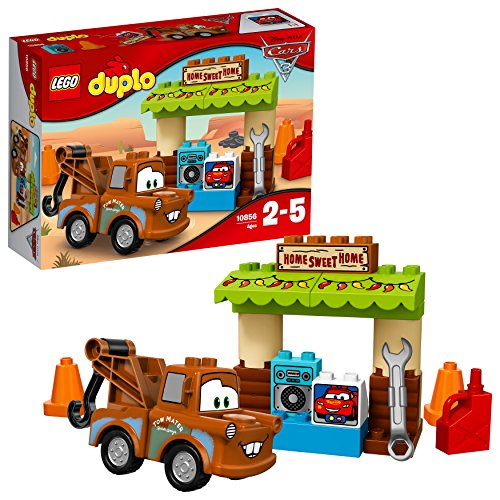 LEGO Duplo 10856 - Hooks Schuppen, Große Bausteine
