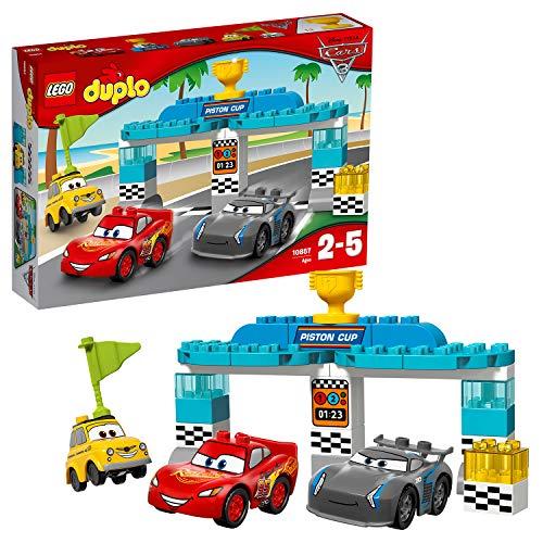 LEGO Duplo 10857 - Piston-Cup-Rennen, Kleinkinder-Spielzeug