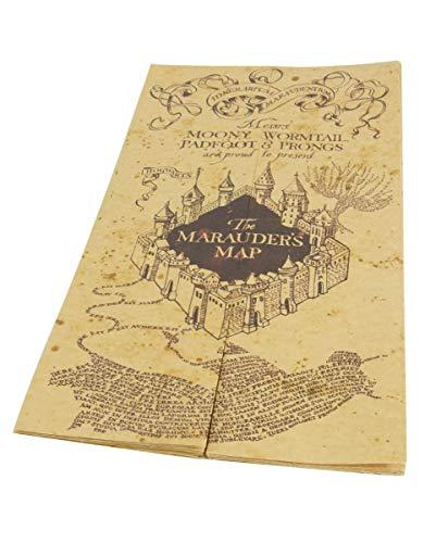 Die Karte des Rumtreibers als Sammlerstück für Harry Potter Fans