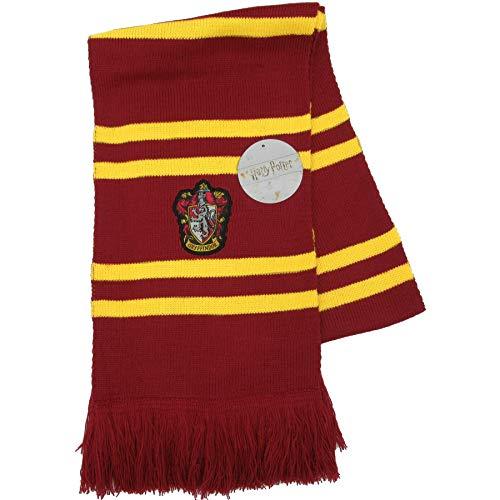 Harry Potter Schal GRYFFINDOR Ultra Weiches,Rot/Gelb