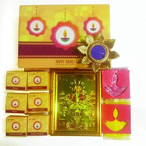 Arvana Laxmi Pooja Samagri-Set für Diwali & Geschenke