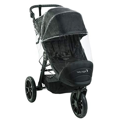 Baby Jogger 2105021 Kinderwagen-Wetterschutz und -Regenschutz   für City Elite2, City Mini2 (Dreirädrig) und City Mini GT2   hält Regen, Schnee und Wind Ab, Transparent, 449 g