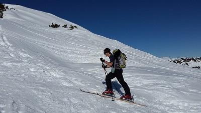 Skitour Männer