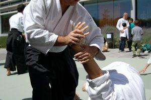 entspannung mit aikido