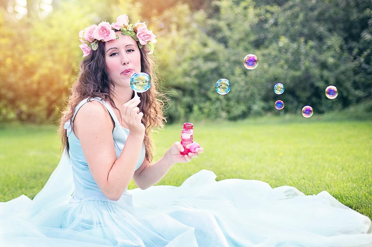 Seifenblasen zur Hochzeit
