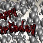 Nachträgliche Geburtstagswünsche - geht auch später!