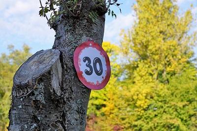 Glückwünsche zum 30. Geburtstag