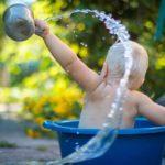 Baby Bucket - ein Badeeimer als Geburtsgeschenk