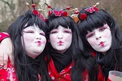 Karnevalskostüm für Fasching