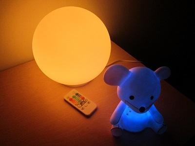 Nachtlichter und Babylichter