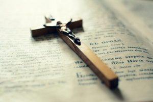 Taufkreuz als Symbol