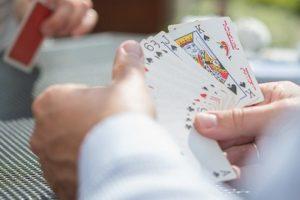 Spielkarten für Poker