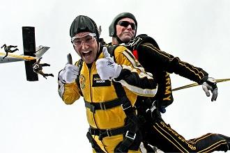 Skydiving für Unerschrockene – Geschenke für Männer die alles haben